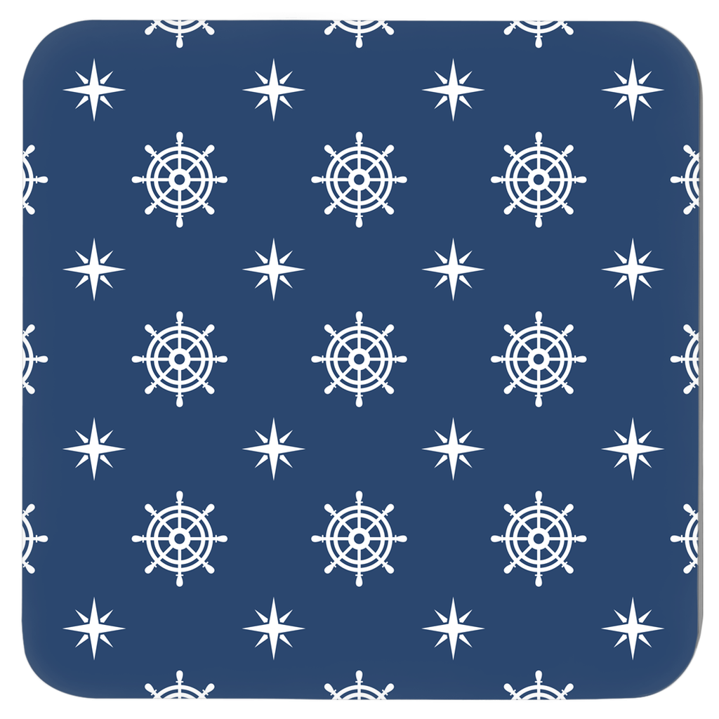 Nautical Coasters - Anchor Print