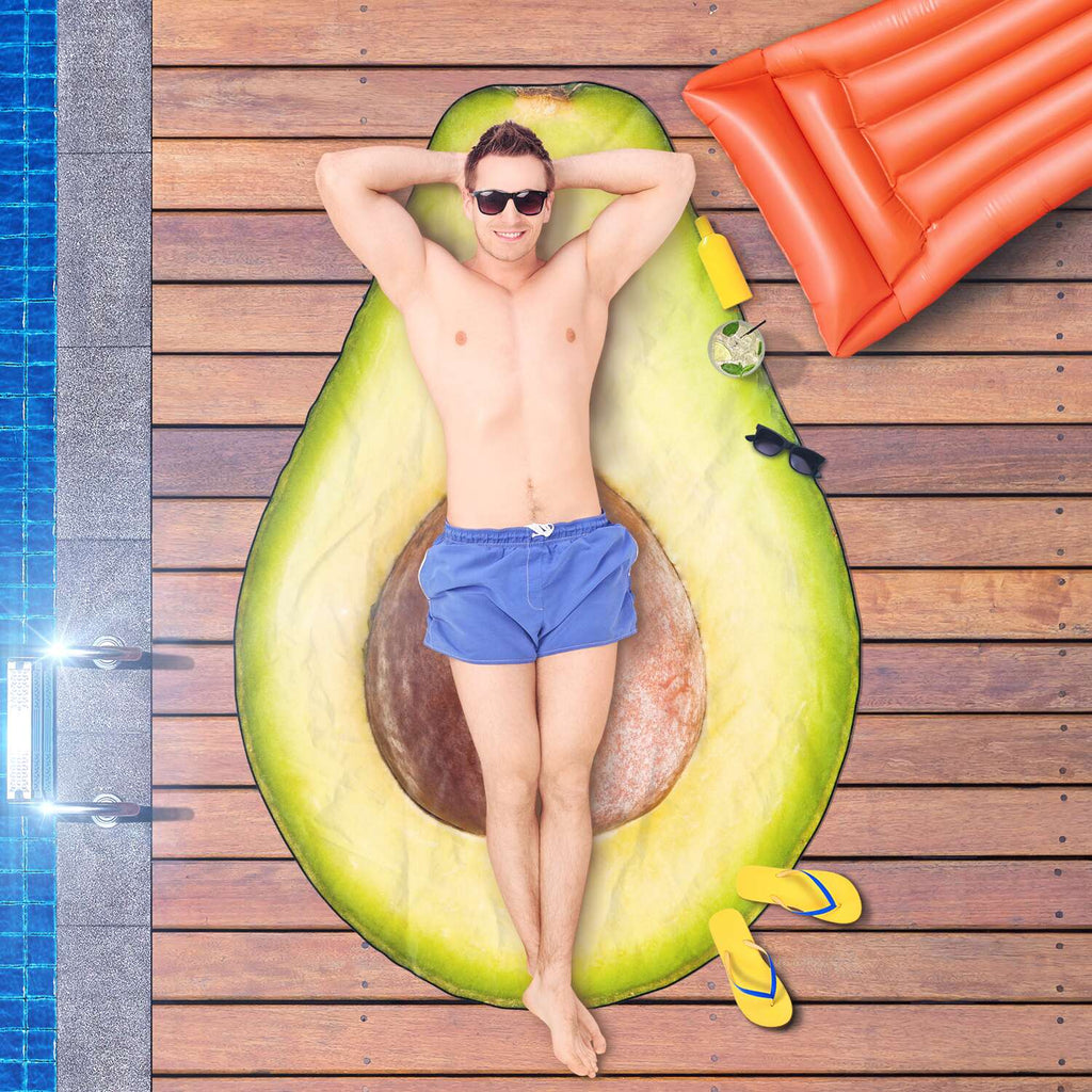 Avocado Beach Towel - Super Soft and Dries Quickly
