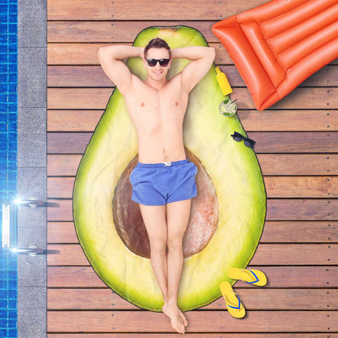 Image of Avocado Beach Towel - Super Soft and Dries Quickly