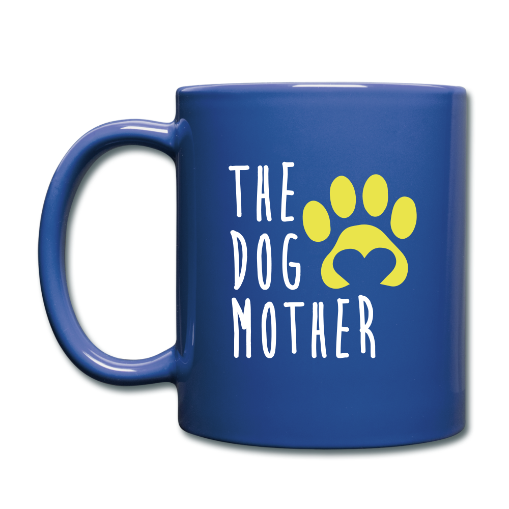 The Dog Mother Full Color Mug - royal blue