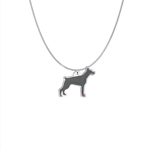 Image of Doberman Necklace