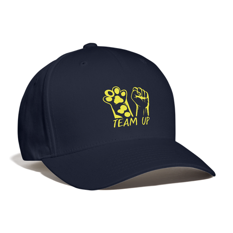 Image of Team Up Baseball Cap - navy