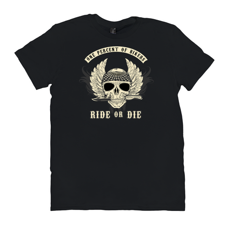Image of Ride or Die T-Shirts - Biker Shirt