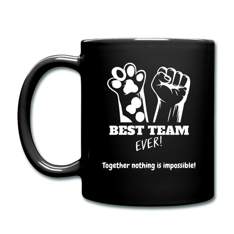 Team Ever Full Color Mug - black