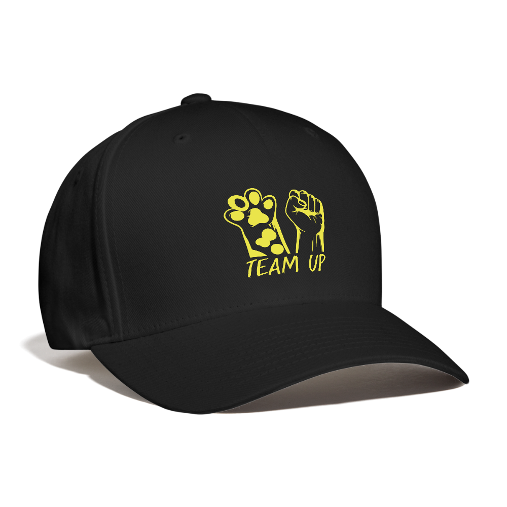 Team Up Baseball Cap - black