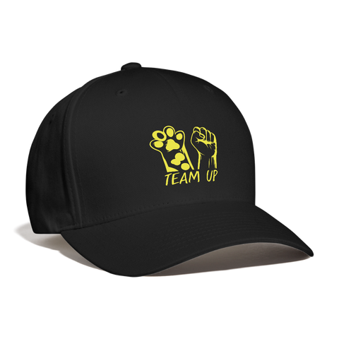 Image of Team Up Baseball Cap - black