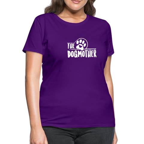 The Dog Mother Women's T-Shirt - purple