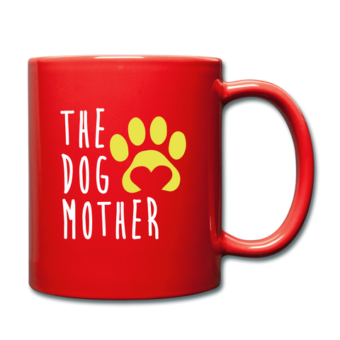 The Dog Full Color Mug - red