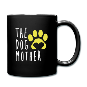 The Dog Mother Full Color Mug - black