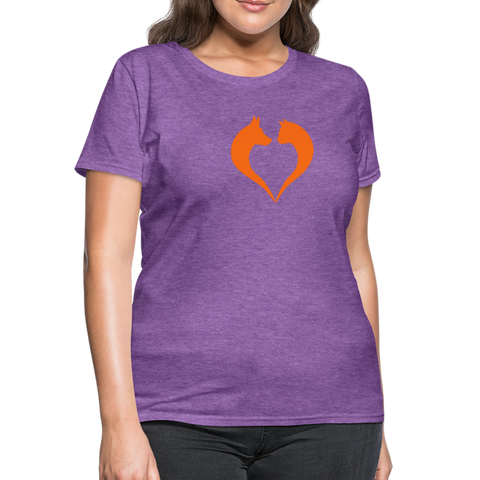 I love dogs and cats Women's T-Shirt - purple heather