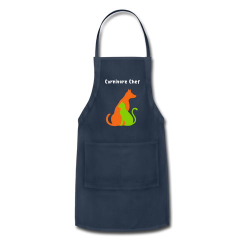 Image of Carnivore Chef Apron - navy