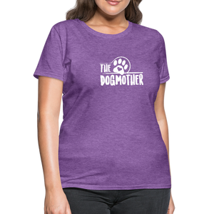 The Dog Mother Women's T-Shirt - purple heather