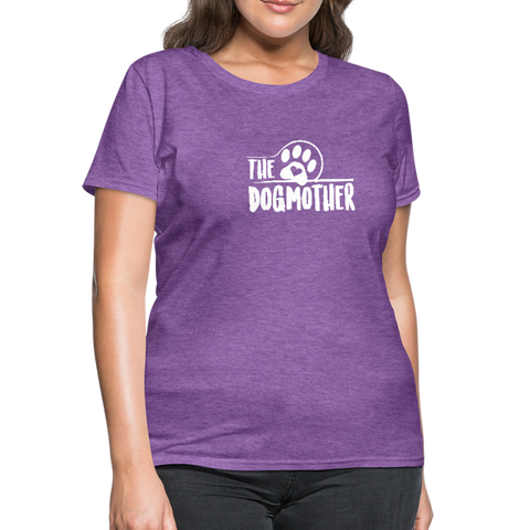 Image of The Dog Mother Women's T-Shirt - purple heather