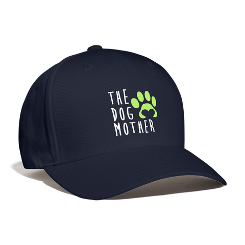 The Dog Mother Baseball Cap - navy