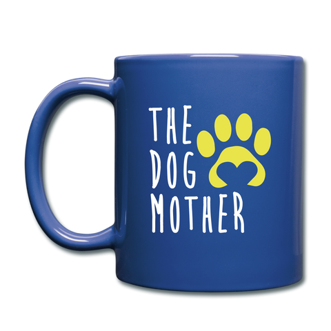 Image of The Dog Full Color Mug - royal blue