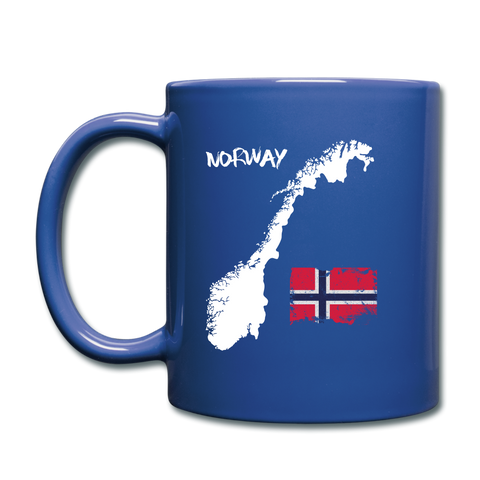 Image of I love Norway Full Color Mug - royal blue