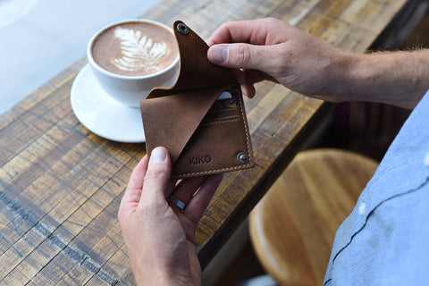 Wallet and Card Case - Wing Fold Card Case