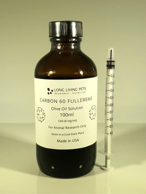 C60 Fullerene in Olive Oil -  100ml
