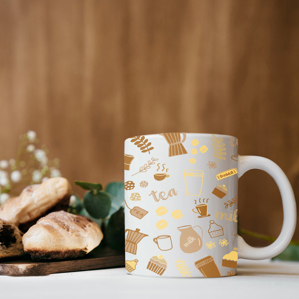 Mug for Coffee and Tea Lover