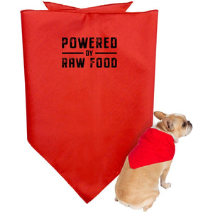 Powered By Raw Food  Doggie Bandana