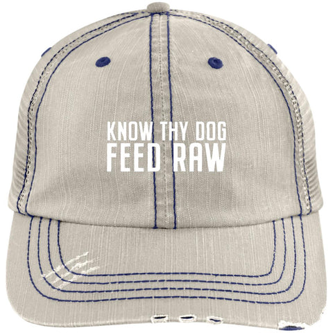 Image of Know Thy Dog  Distressed Trucker Cap