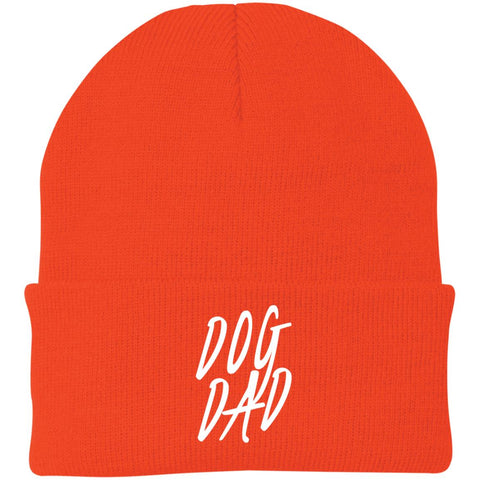Dog Dad Port Authority Knit Cap
