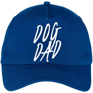 Dog Dad  Five Panel Twill Cap