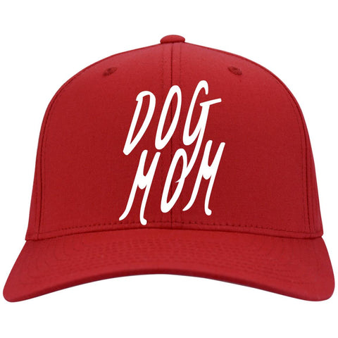 Image of Dog Mom  Baseball Cap - Port Authority Flex Fit Twill