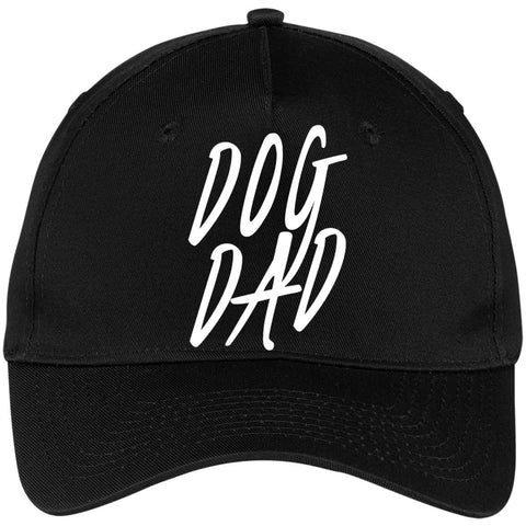 Image of Dog Dad  Five Panel Twill Cap