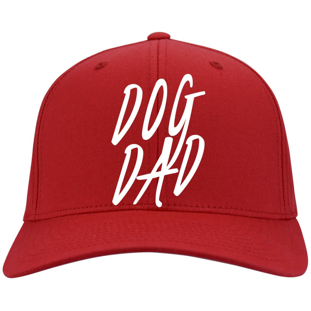 Dog Dad Port Authority Flex Fit Twill Baseball Cap