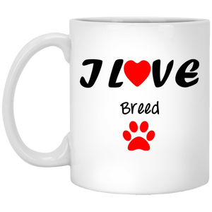 Customize Your Mug with Your Favorite Breed