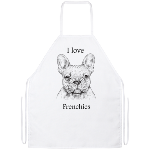I love Frenchies Apron