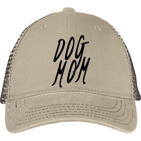 Image of Dog Mom Mesh Back Cap staying cool without cooking your brain