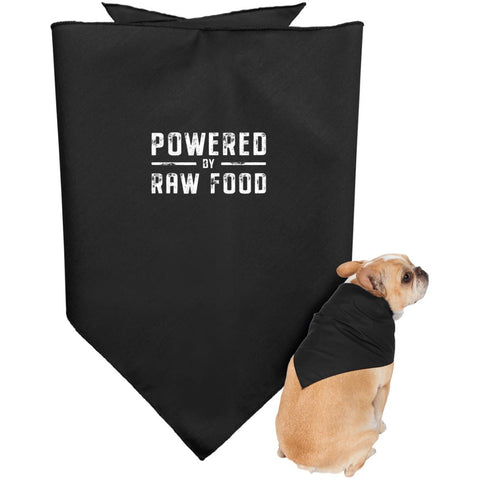 Image of Powered by Raw -  Doggie Bandana