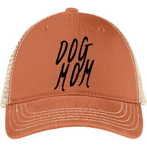 Dog Mom Mesh Back Cap staying cool without cooking your brain