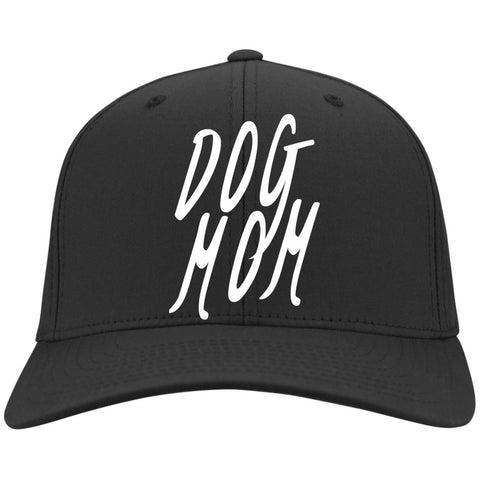 Dog Mom  Baseball Cap - Port Authority Flex Fit Twill