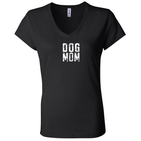 Image of B6005 Bella + Canvas Ladies' Jersey V-Neck T-Shirt