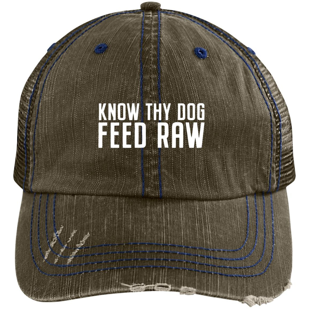 Know Thy Dog  Distressed Trucker Cap