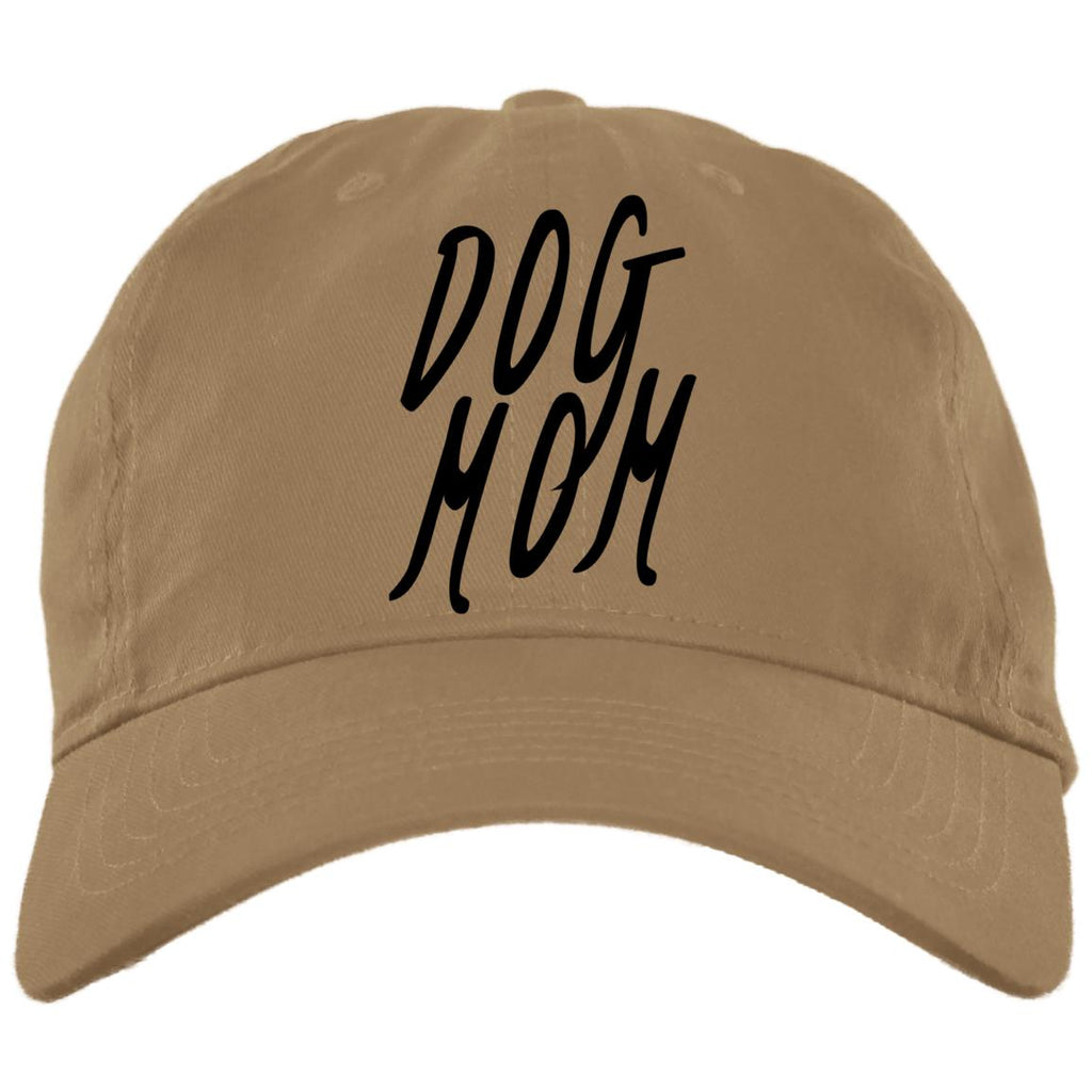 Dog Mom Cap - Brushed Twill Unstructured, 100% Cotton,
