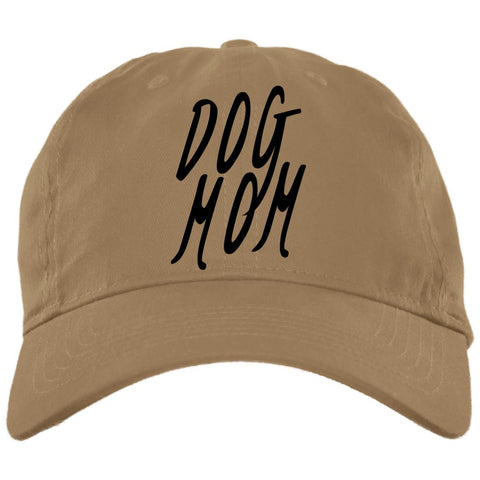Image of Dog Mom Cap - Brushed Twill Unstructured, 100% Cotton,