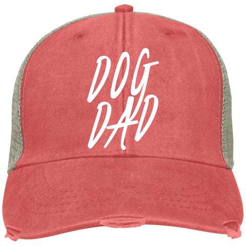 Image of Dog Dad Adams Ollie, cotton twill sweatband, cool mesh lining, embroidery