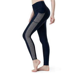Leggings with Pockets  - Black or Navy, Great for Yoga and Gym Workouts