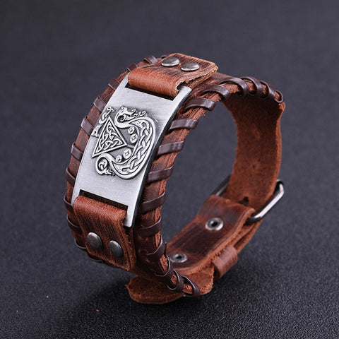 Image of Hidden Dragon Irish Knot Amulet Bracelet