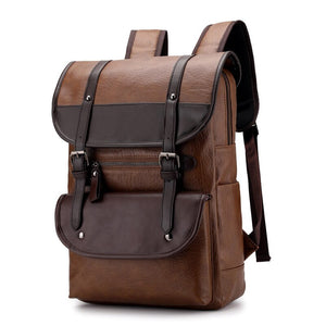 Men's Large Capacity Buckled Travel Bag