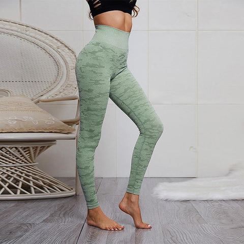 Image of High Waist Curve Fitness Leggings