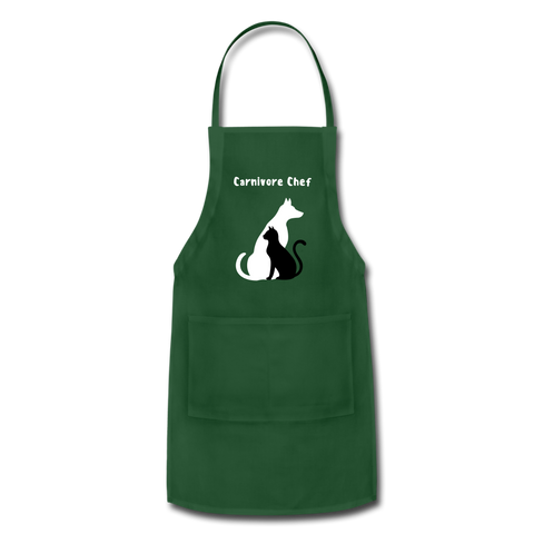 Image of Adjustable Apron - forest green