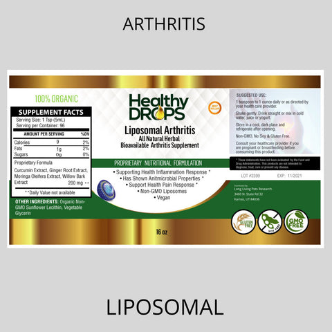 Image of LIPOSOMAL ARTHRITIS | JOINT SUPPORT BLEND