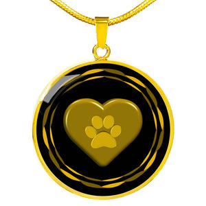 I love pets Necklace | Luxury Gold or Silver