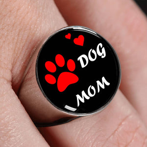 Dog Mom Ring.
