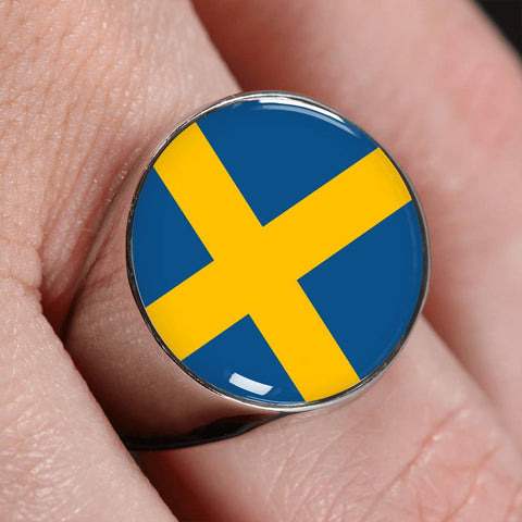 Swedish Flag Ring